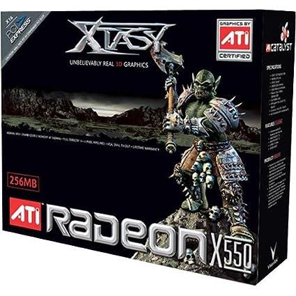 X550 256MB DDR PCI E VGA TVO DVI I WINDOWS DRIVER DOWNLOAD