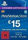 PlayStation Store Guthaben-Aufstockung | 15 EUR | PS4, PS3, PS Vita PSN Download Code - deutsches Konto