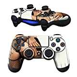 Cheap MODFREAKZ Pair of Vinyl Controller Skins – Handcuff Thong Fishnet for Playstation 4