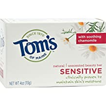 Tom'S Of Maine Sensitive Natural Beauty Bar Soap 4 Ounces
