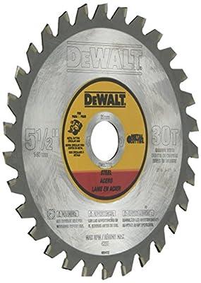 DEWALT 5-1/2-Inch Metal Cutting Blade