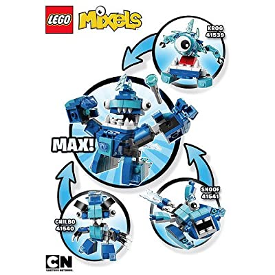 LEGO, Mixels Series 5 Bundle Set of Frosticons, Krog (41539), Chilbo (41540), and Snoof (41541): Toys & Games