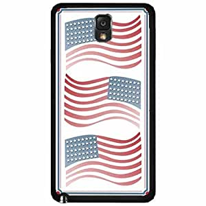 American Flags Design pc pc SILICONE Phone Case Back Cover Samsung Galaxy Note III 3 N9002