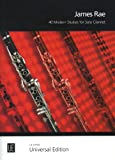 img - for 40 MODERN STUDIES: FOR SOLO CLARINET (GRADES 1 - DIPLOMA) book / textbook / text book