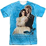 Labyrinth Family Fantasy Adventure Movie Dream Couple Adult Front Print T-Shirt