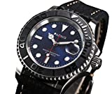 2017 New Arrival Parnis Brand Casual Mens Watches 21 Jewels Movement 50m Waterproof Swim Men's Boy Gift