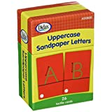 Didax Educational Resources 210830 Sandpaper Letters, Upper Case
