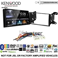 Volunteer Audio Kenwood DDX9904S Double Din Radio Install Kit with Apple CarPlay Android Auto Bluetooth Fits 2011-2013 Non Amplified Toyota Matrix