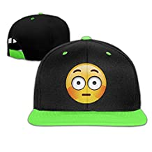 Wechat Emoji Shy Face Kid's Adjustable Snapback Hat Baseball Caps