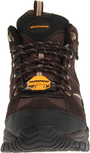 Skechers For Work Mens 76988 Hemi Boot Brown
