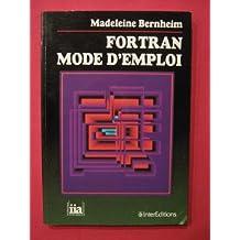 FORTRAN MODE D'EMPLOI