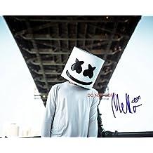 DJ Marshmello EDM reprint signed 11x14 poster photo #4 RP DOTCOM