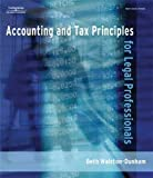 Accounting and Tax Principles for Legal Professionals 9781418011079