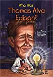 img - for [Who Was Thomas Alva Edison?] (By: Margaret Frith) [published: January, 2011] book / textbook / text book