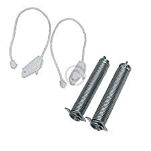 Edgewater Parts 00754866 Door Springs And Cables Compatible With Bosch Dishwasher