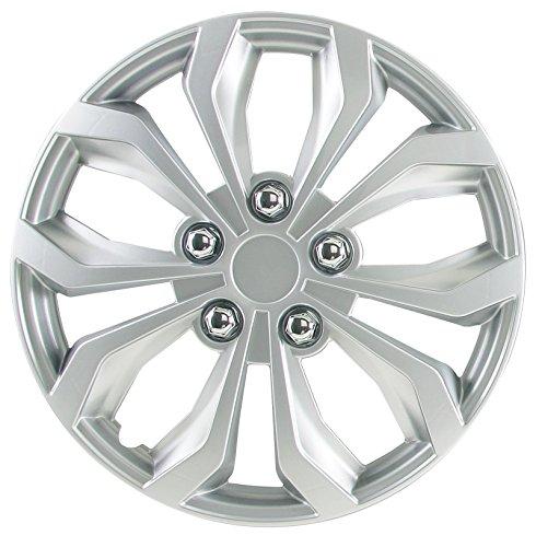 white 14 hubcaps 4 lug - 4