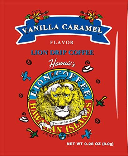 (Lion drip coffee vanilla caramel 8gX10 bags)