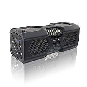 MAOZUA Altavoz Bluetooth inalámbrico portátil de Batería resistente al agua construido en micrófono 3600mAh recargable de tecnología NFC Compatible con todos los dispositivos Bluetooth