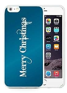 Niche market Phone Case iPhone 6 Plus Case,Merry Christmas White iPhone 6 Plus 5.5 TPU Case 76