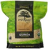 truRoots Organic Quinoa 100% Whole Grain Premium Quality, 4 lbs