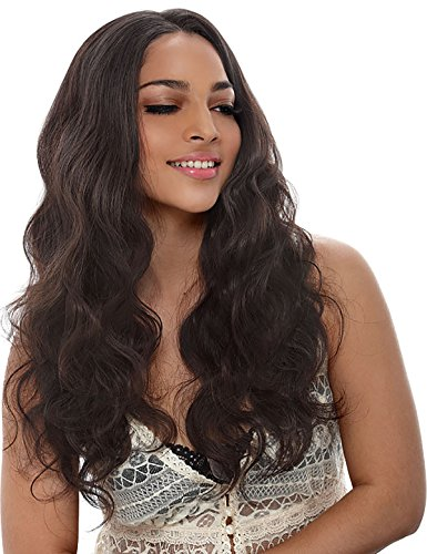 Baisi Natural Color Body Wave 360 Lace Wig Pre-Plucked 150% Density Full Lace Band Virgin Human Hair Wigs With Natural Hairline Get Free Wig Cap for Black Women (22inch) by Baisi