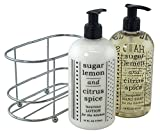 3 Pc Gift Set – Sugar Lemon and Citrus Spice Duo in Caddy