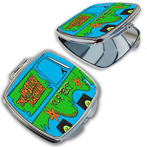 BleuReign(TM) Personalized Custom Name The Mystery Machine Van Compact Mirror - Custom Compact Mirrors