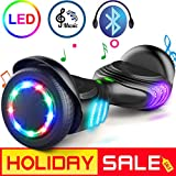 TOMOLOO Hoverboard w/ Bluetooth Speaker & Colorful LED Lights Deal (Small Image)
