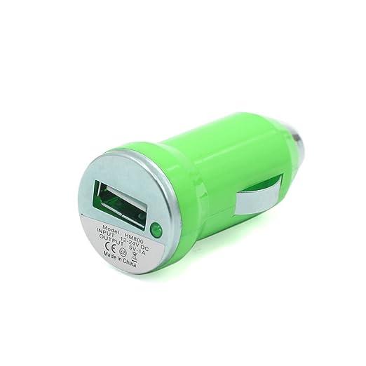 Amazon.com: eDealMax Adaptador cargador 2pcs plástico Verde ...