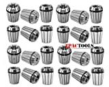 ER32 Collet Set Industrial Grade (45PC Set is 25PC Imperial sets + 20PC metric set)