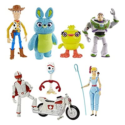 Toy Story 4 COS1274395 Ultimate Gift Pack 7 Figures: Toys & Games