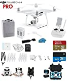 #10: DJI Phantom 4 PRO Quadcopter Drone with 1-inch 20MP 4K Camera KIT + SanDisk Extreme 32GB Micro SDXC Card + Card Reader 3.0 + Snap on Prop Guards + Carry Strap System + Koozam Waterproof HardCase