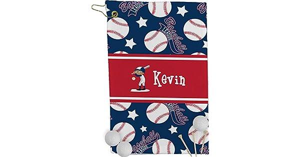 Amazon.com: Toalla de golf de béisbol – Full Print ...