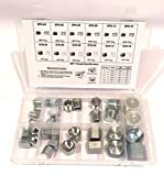 32 PC KIT NPT PIPE CAP & PLUG ADAPTER FITTING SET