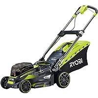 Ryobi RLM18X41H240 ONE+ 36V Fusion Cordless Lawnmower with 2x 18V 4.0Ah batteries, 40cm Deck