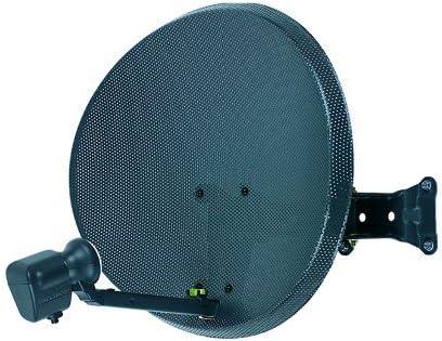 Antena parabólica Triax MK4 de 60 cm + conversor de reducción de ruido LNB