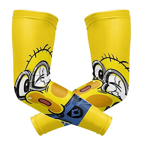 Hapless Minions Arm Sleeve - UV Protection Cooling Compression Sun Sleeves for Men & Women for Running, Cycling,Baseball, Basketball, Golf]()
