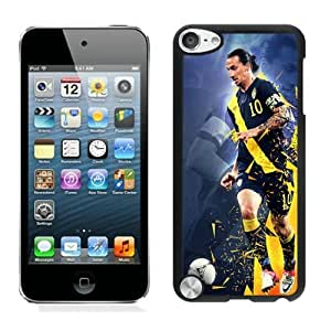Lovely iPod Touch 5 Case Design with Zlatan Ibrahimovic in Black