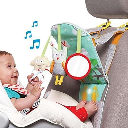 Amazon.com : Taf Toys Play & Kick Car Seat Toy | Baby\'s Activity ...