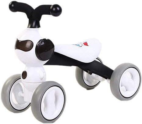HAOHAOWU Bicicleta De Equilibrio para Bebés, Sin Pedal Bebé 4 ...