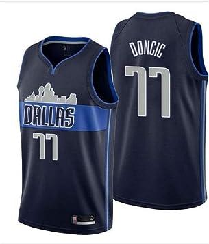 Formesy Camiseta de Baloncesto para Hombres - NBA Dallas Mavericks ...