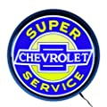 Neonetics Super Chevrolet Service Backlit LED Lighted Sign, 15""