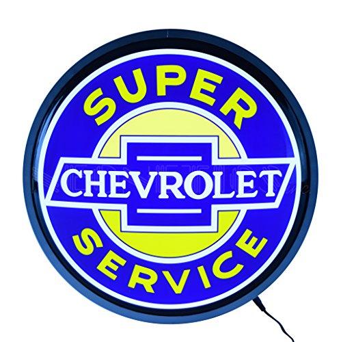 Neonetics Super Chevrolet Service Backlit LED Lighted Sign, 15