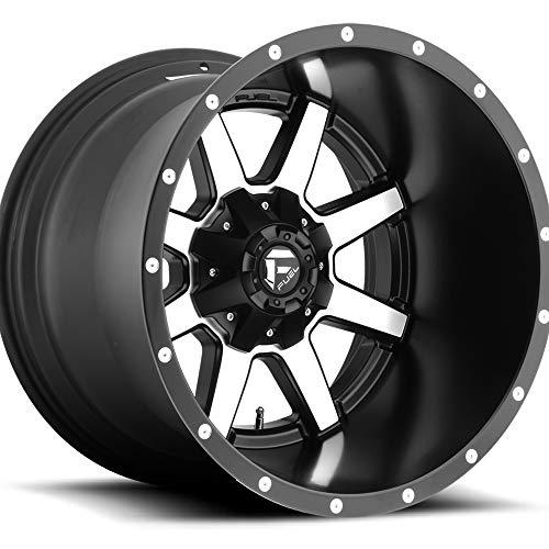 Amazon Com Fuel Maverick 20 Machined Black Wheel Rim 6x135 6x5