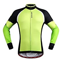 WOLFBIKE Fleece Thermal Cycling Jacket Jersey Long Sleece Windproof UV-Protect Coat Outdoor Sports Casual Jacket / Pant for Winter Sports Outdoor