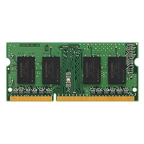 Kingston KCP313SD8/8 - Memoria RAM para portátil de 8 GB (1333 MHz SODIMM, DDR3, 1.5 V, CL9, 204 Pines): Kingston: Amazon.es: Informática