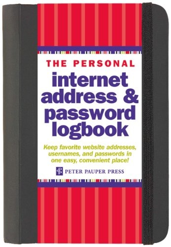 Pdf Computers The Personal Internet Address & Password Log Book