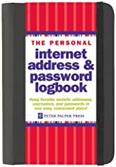 Are you tired of losing track of those login/usernames and passwords you create every time you visit a new website? Now you can keep important website addresses, usernames, and passwords in one convenient place!Lots of space: 144 pages, inclu...