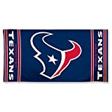 NFL Houston Texans 30 by 60 Fiber Reactive Beach Towel