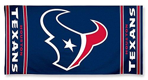 NFL Houston Texans 30 by 60 Fiber Reactive Beach Towel